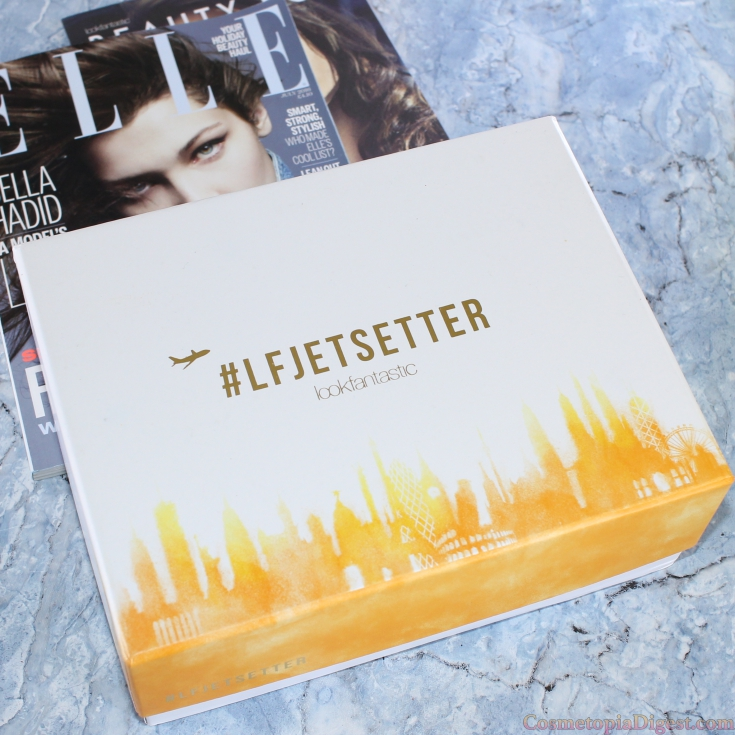 Review and contents of the LookFantastic #LFJetSetter Beauty Box for June 2016