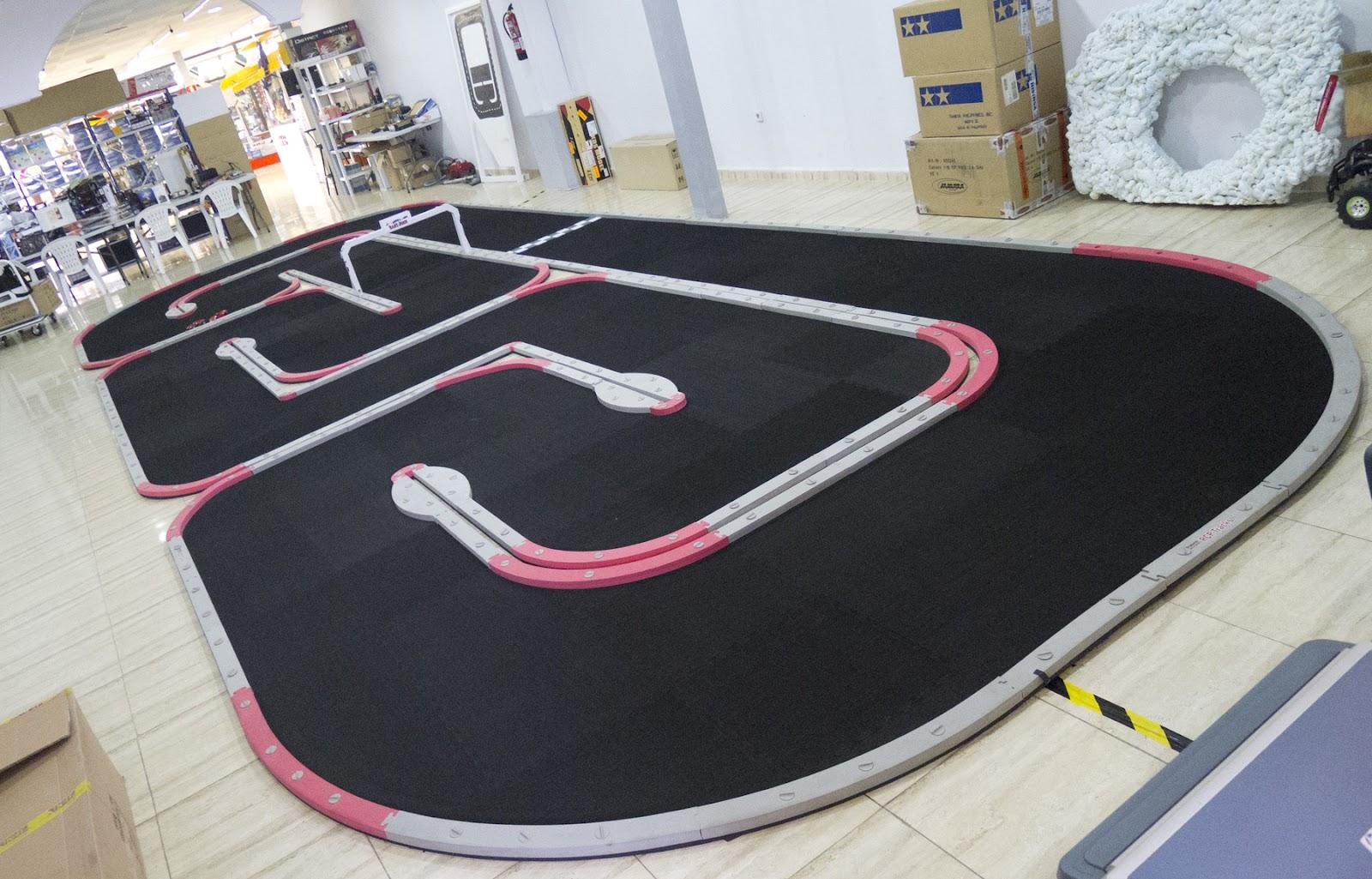 Circuito Z : Scalextric a medida eventos y centros comerciales circuitos y