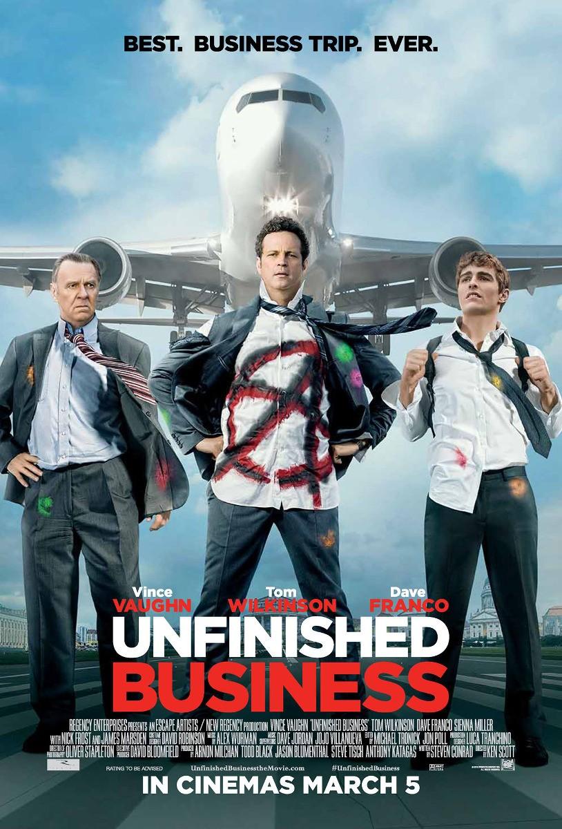 Unfinished Business ทริปป่วน กวนไม่เสร็จ [HD][พากย์ไทย]