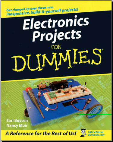 book : Electronics projects for dummies / free