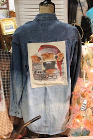rustic farm Christmas shirt