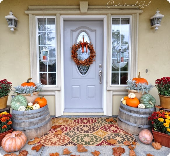 Fall Front Porch: Life And Love: Fall Front Porch Decoration Ideas