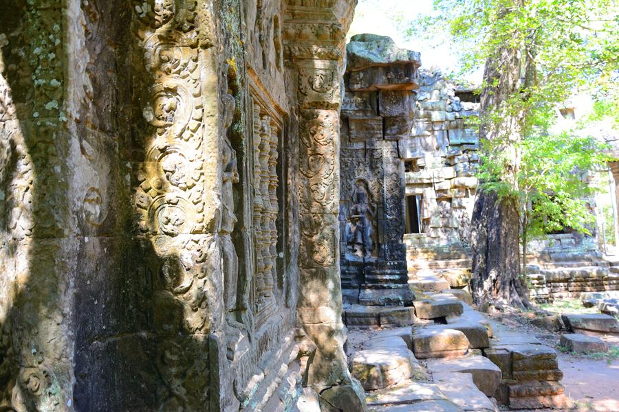 Ta Prohm w Angkor