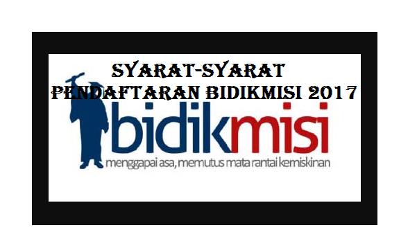 Pendaftaran Bidikmisi 2017