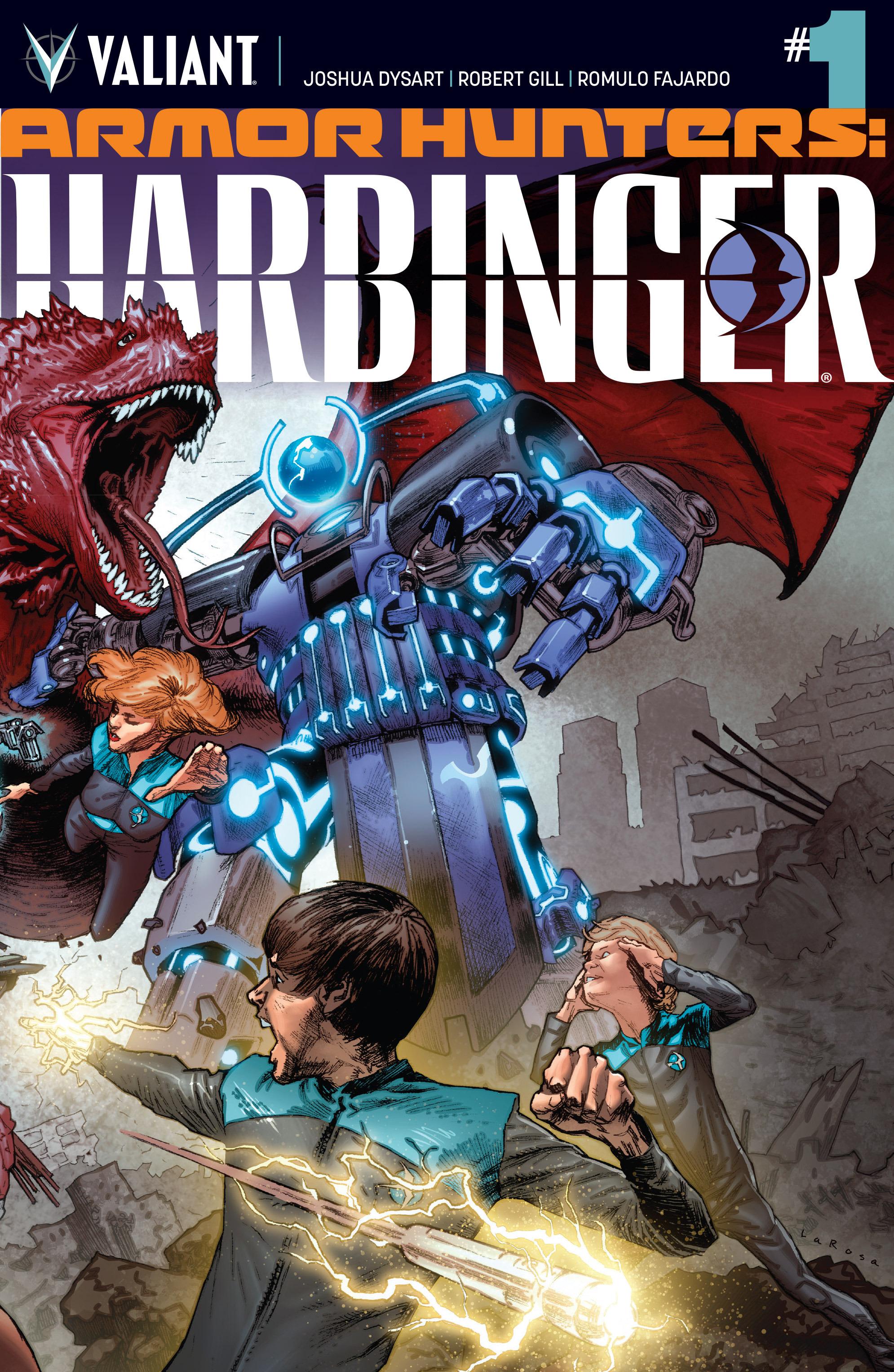 Read online Armor Hunters: Harbinger comic -  Issue # TPB - 6