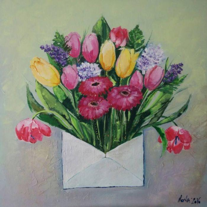 Красивые и яркие цвета. Jelena Nova