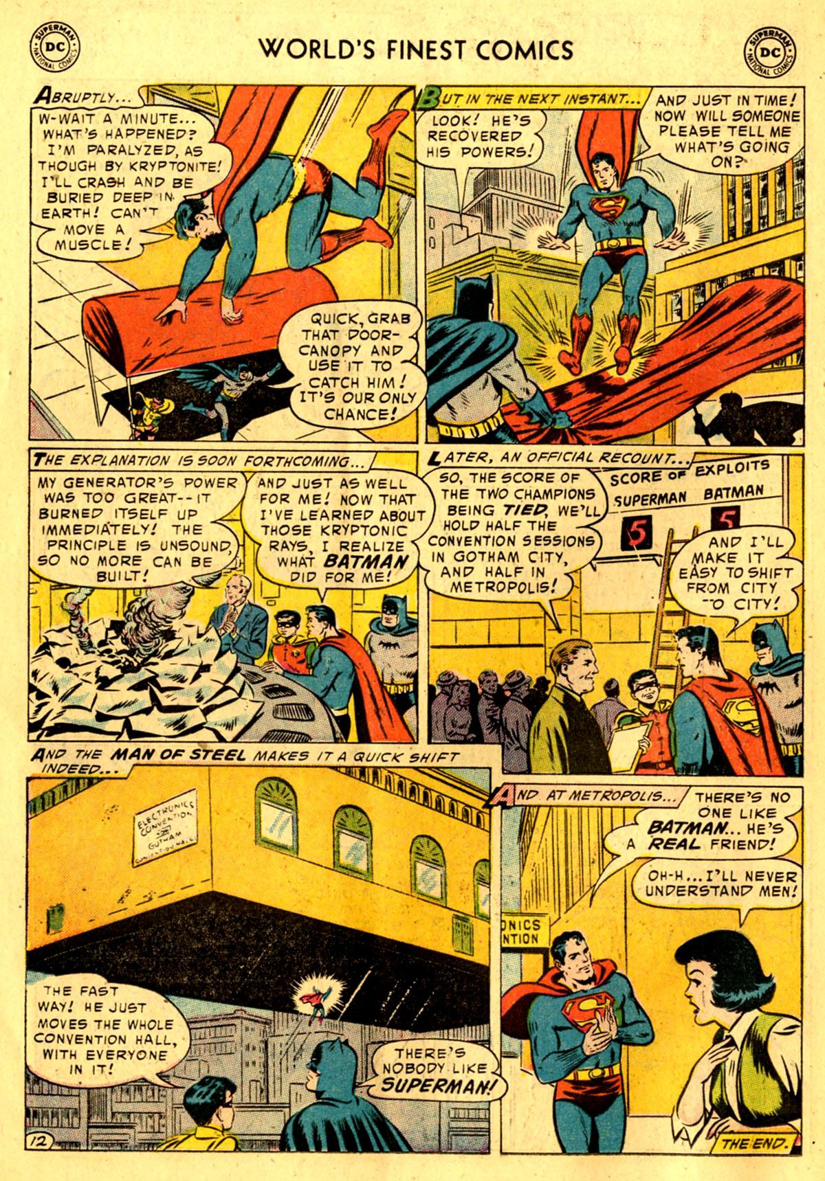 Read online World's Finest Comics comic -  Issue #76 - 14