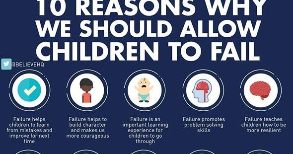 How To Help Kids Learn To Fail >> Bits En Pieces 10 Reasons Why We Should Allow Children To Fail