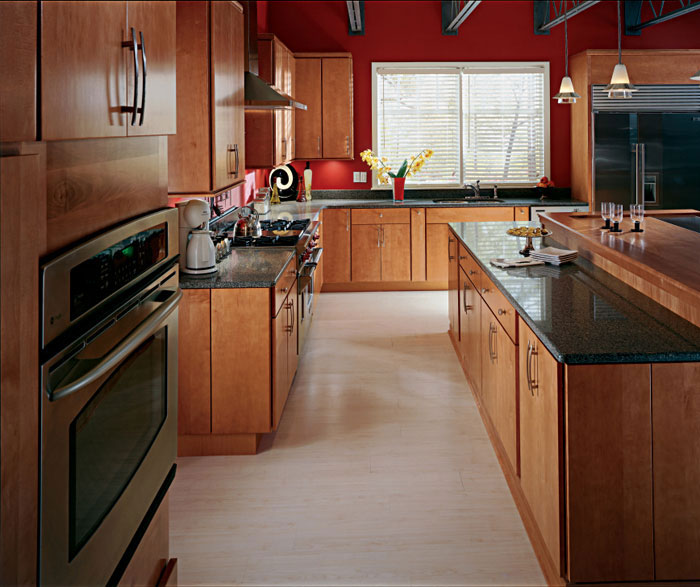 Cherry Cabinets In Kitchen: Home Improvement & Construction