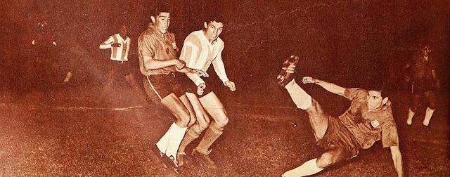 Argentina y Chile en Copa Carlos Dittborn 1962, partido de vuelta