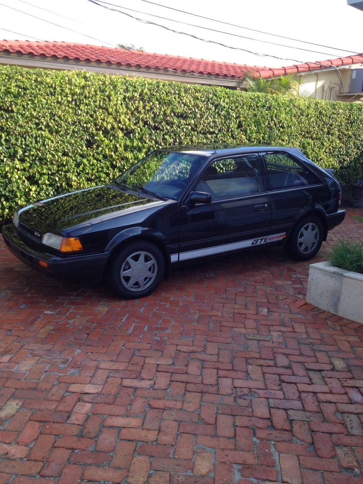 just a car geek 1988 mazda 323 gtx an under appreciated little known performance car. Black Bedroom Furniture Sets. Home Design Ideas