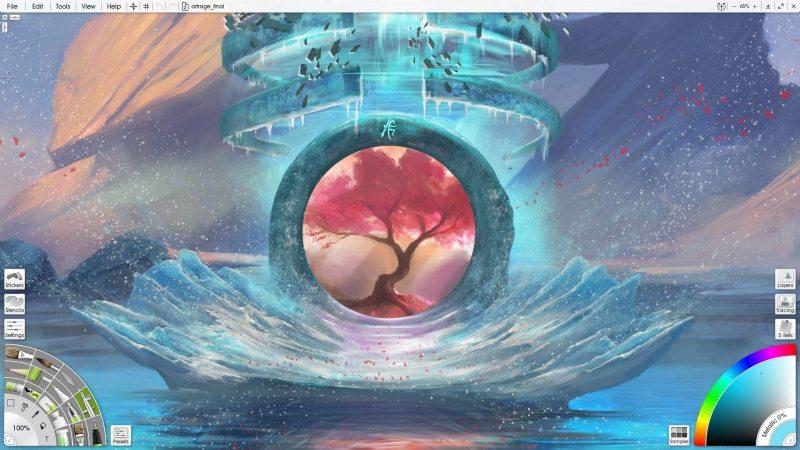 Download ArtRage 5.0.6 Full Key, Phần mềm vẽ ảnh với trí tuệ nhân tạo AI