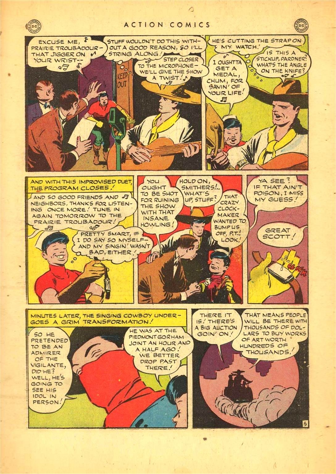 Read online Action Comics (1938) comic -  Issue #92 - 27
