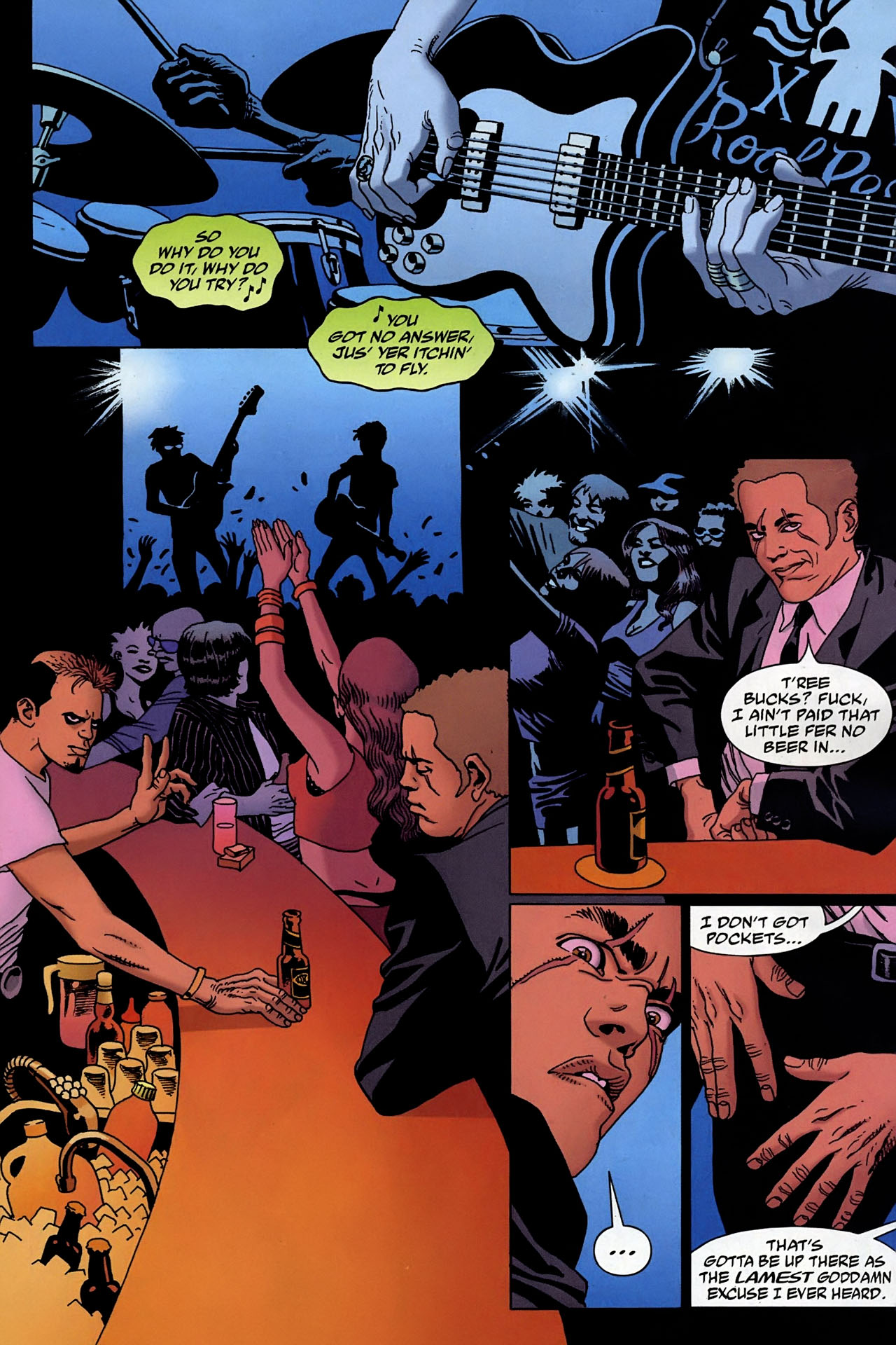 Read online 100 Bullets comic -  Issue #95 - 2