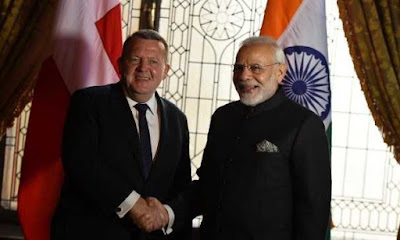 India and Denmark Signed Agreement