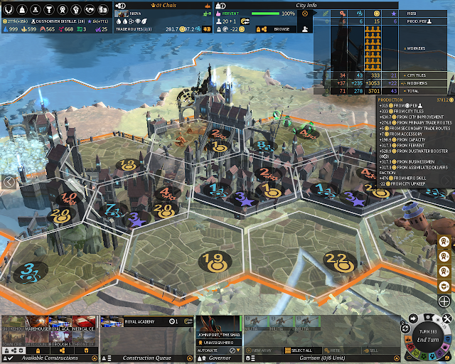 The Golden City | Endless Legend Game Screenshot