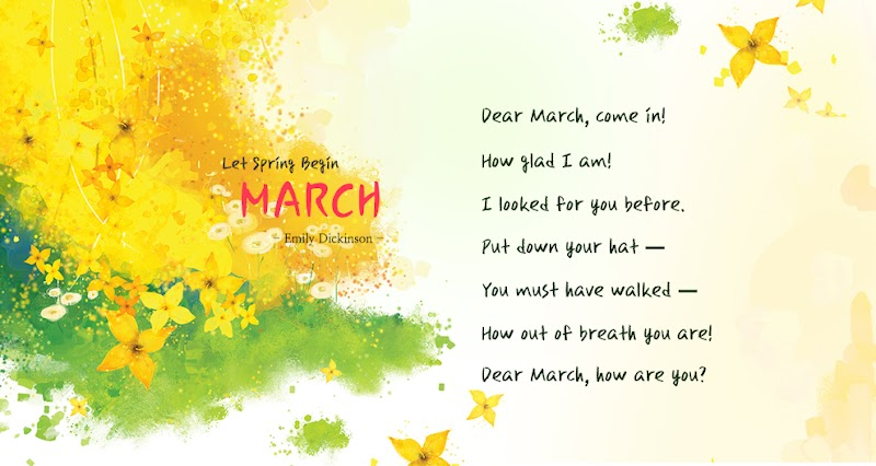 Welcoming March 2016