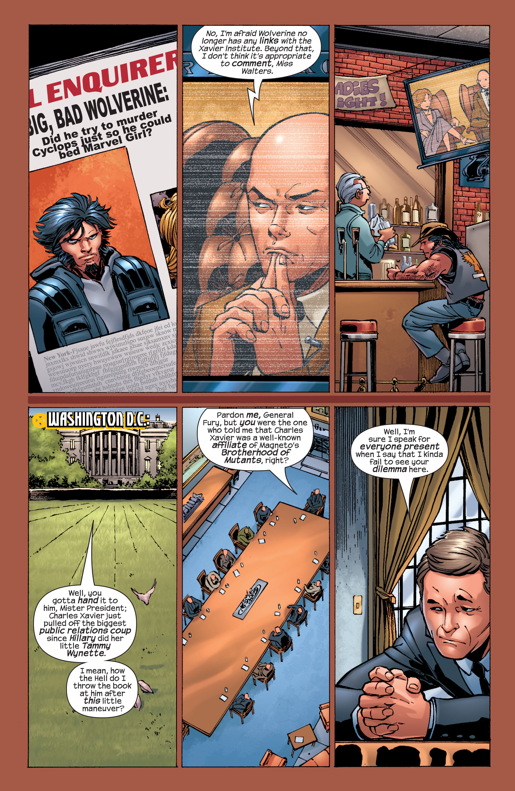 Read online Ultimate X-Men comic -  Issue #32 - 9