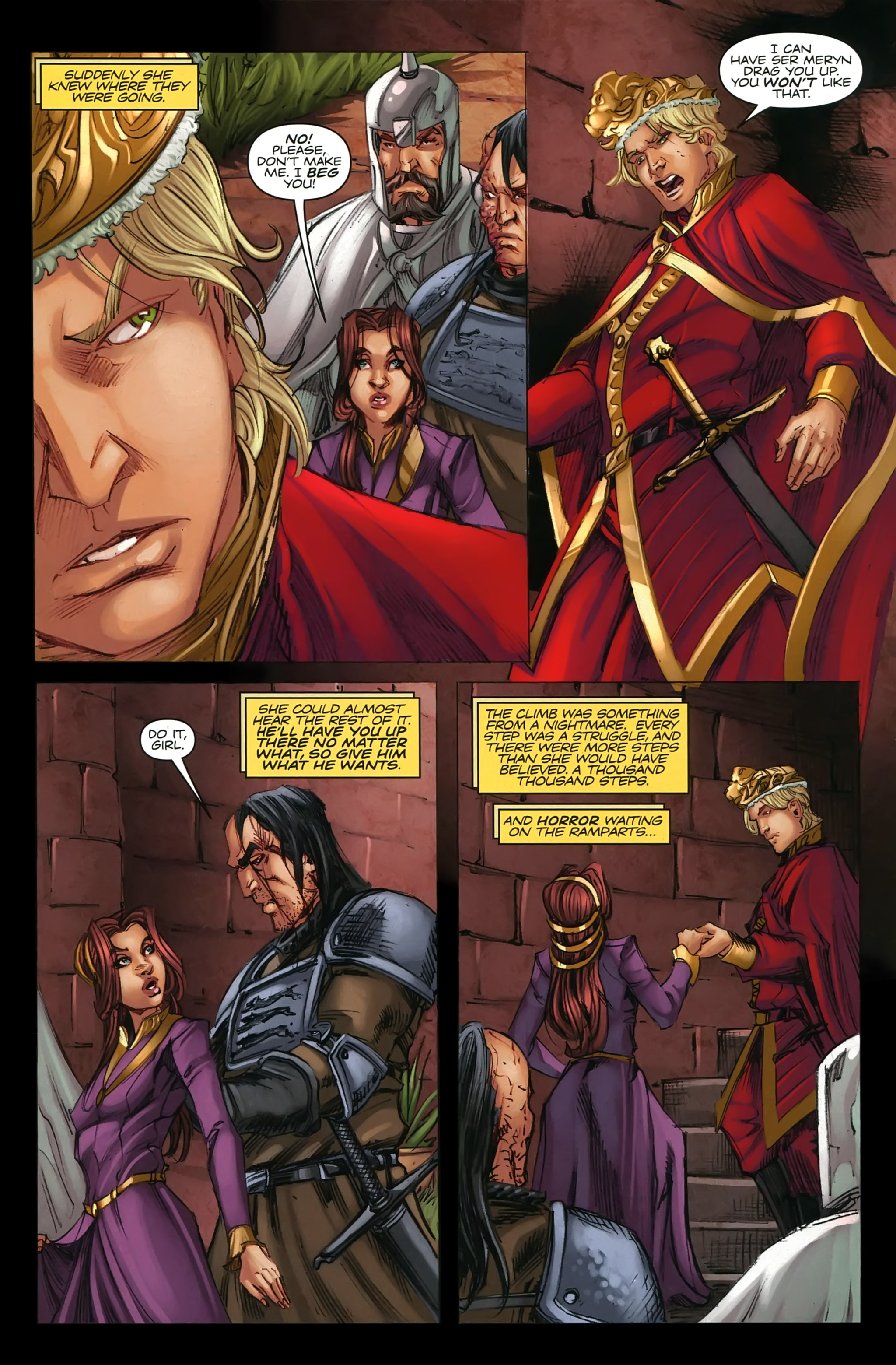 Read online A Game Of Thrones comic -  Issue #22 - 13