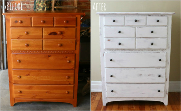 How To Make Furniture Look Old With Paint