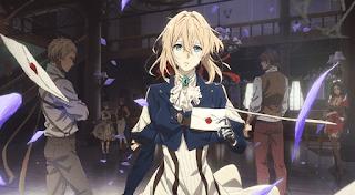 imagem da Violet Evergarden