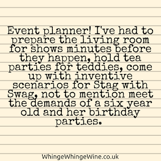 Event planner - shows, birthday parties, stag with swag