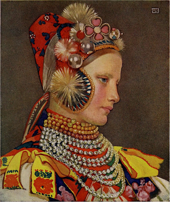 Hungarian Portrait (1905/09?), Marianne Stokes