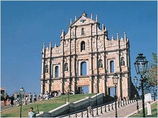 ซากประตูโบสถ์เซนต์ปอล (Ruins of St.Paul's)