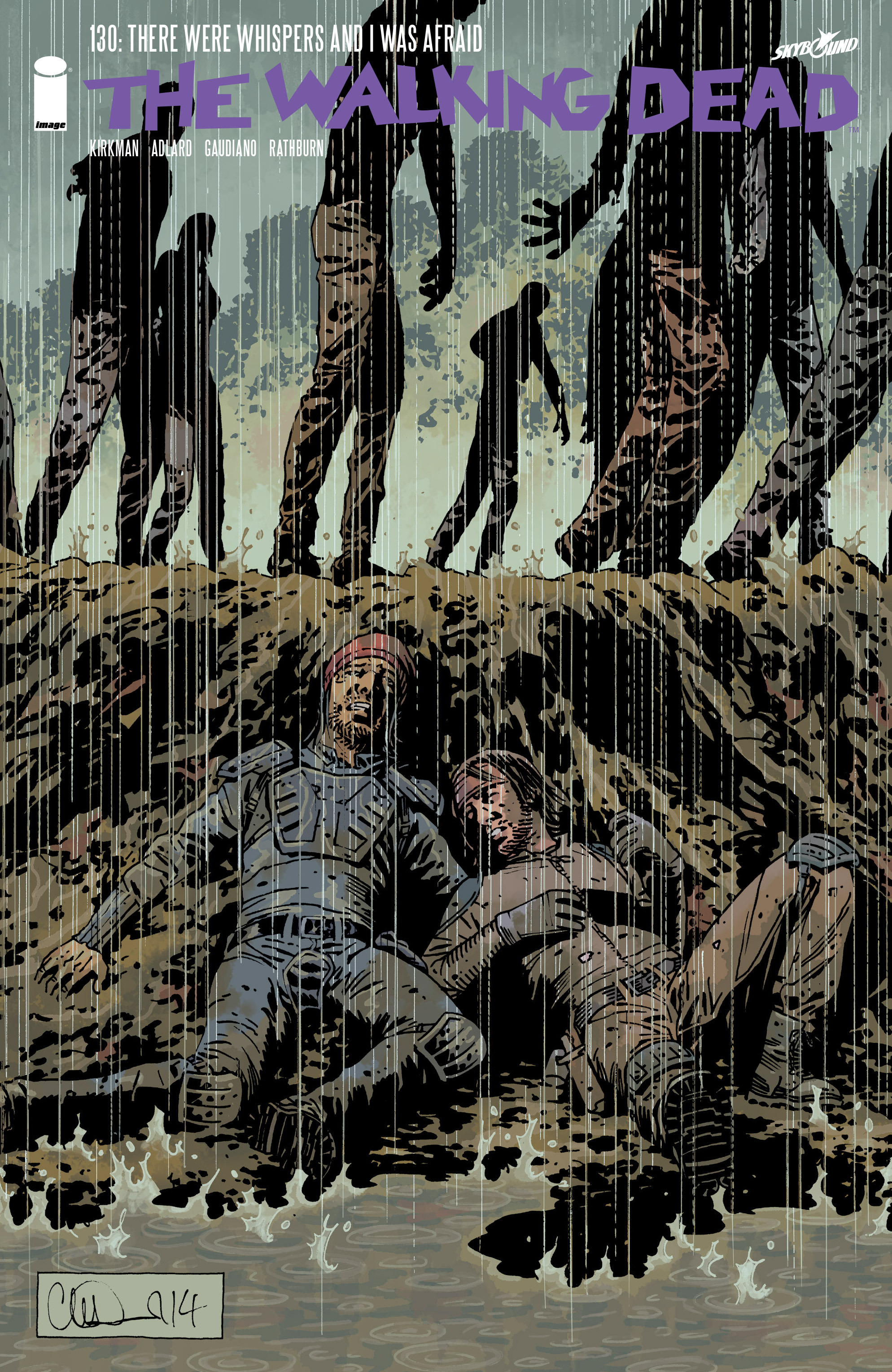 The Walking Dead 130 Page 1