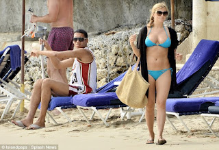 Smalling And Cooke At The Beach