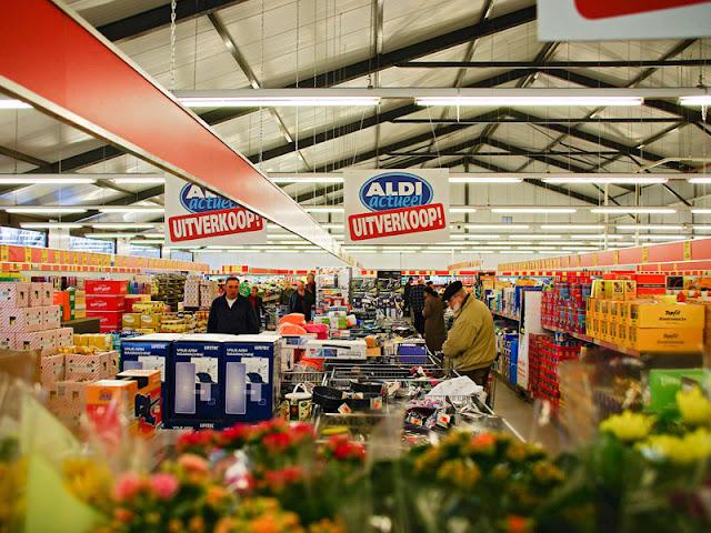 Supermercados Aldi e Lidl em Amsterdã