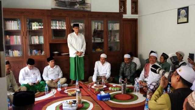 Kunjungi Pesantren Nurul Jadid Paiton, Sandi: Sudah NU Belum Saya?