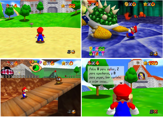 Coleccion ROMS Nintendo 64 [Mult] [N64] [MG-4S-MF] ~ PlayStendo