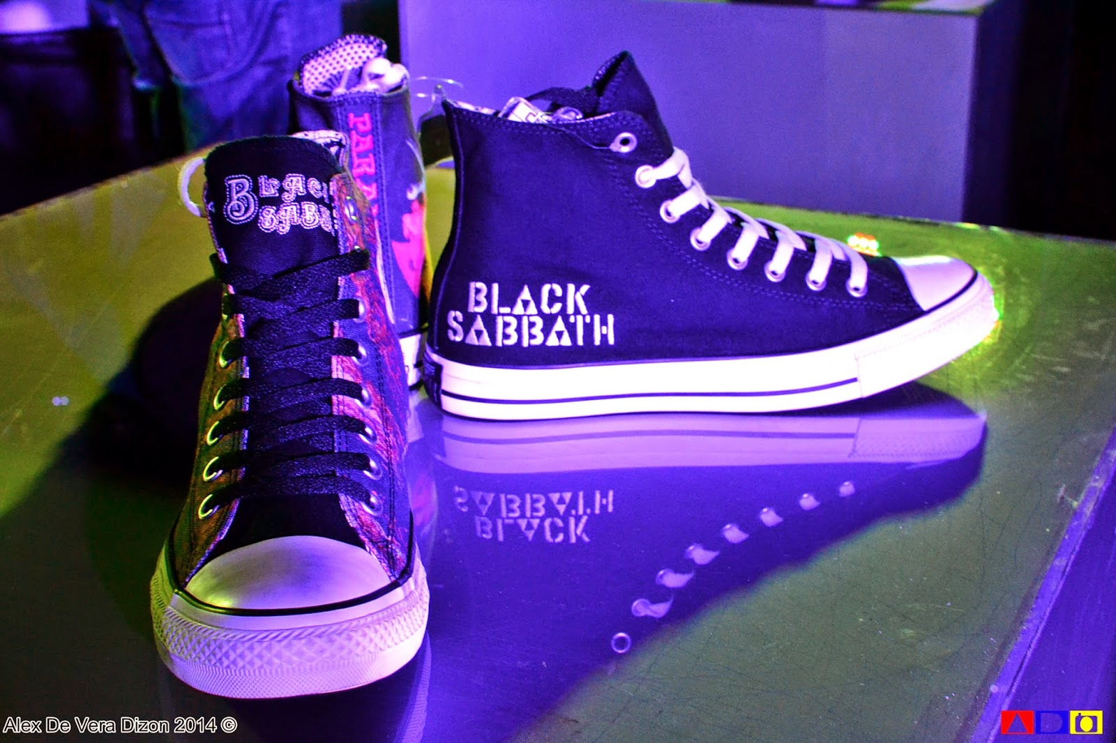 7bcafd5c50bd A sneaker line called the Converse Chuck Taylor All Star Black Sabbath and  Converse by John Varvatos