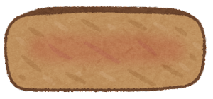 ステーキの焼き方のイラスト(ミディアムウェルダン)