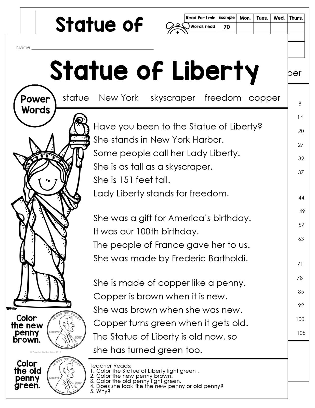American Symbols | Teacher to the Core