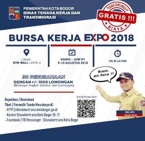 Job Fair Bogor Agustus 2018