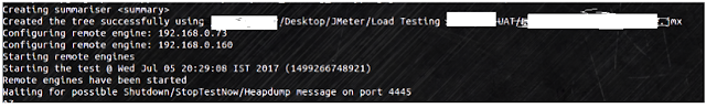 Waiting for possible Shutdown/StopTestNow/Heapdump message on port 4445