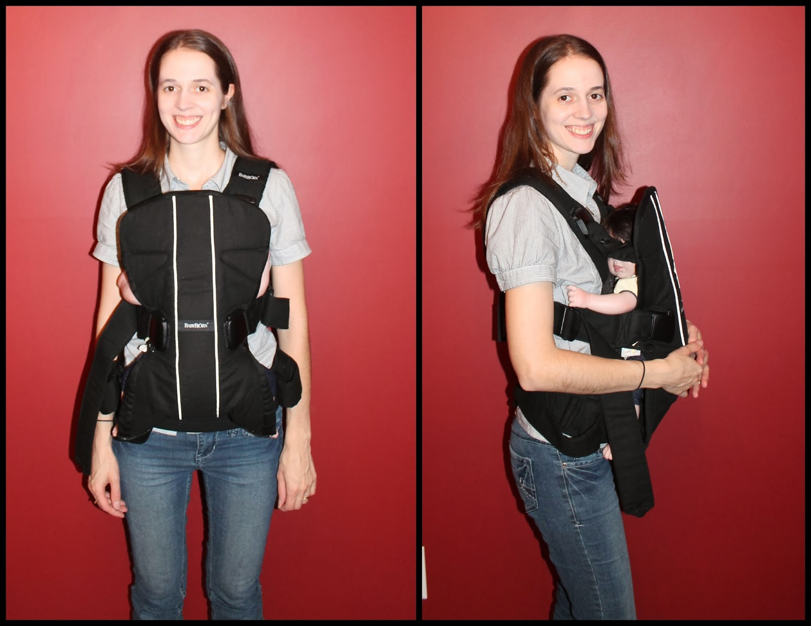 babybj rn baby carrier one thrifty nifty mommy rh thriftyniftymommy com Baby Bjorn Dad Baby Bjorn Carrier