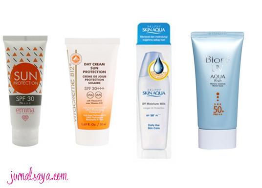 macam-macam-sunscreen-untuk-sehari-hari