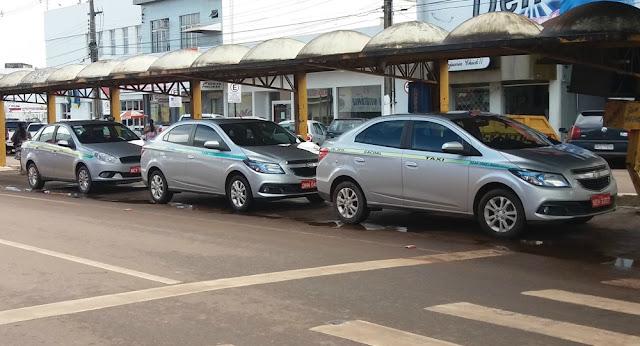 Taxímetros começam a ser instalados em carros de Cacoal