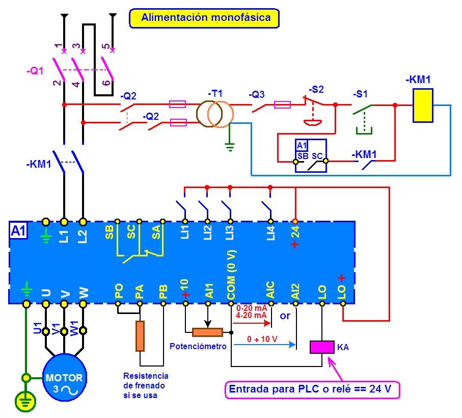 Circuito Variador De Frecuencia : Coparoman convertidor de fase digital para motor trifásico