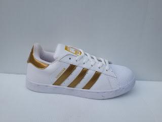 sepatu Adidas Superstar gold