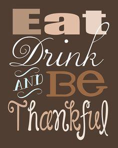 Short Thanksgiving Sayings