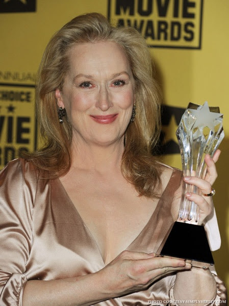 Meryl Streep no Critics Choice Awards