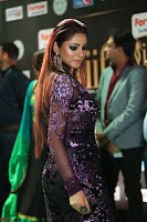 Shilpi Sharma looks Glamorous in Transparent Purple Glittering Gown at IIFA Utsavam Awards 011.JPG