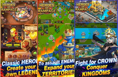 Download Heroes of Rampage Apk Data Terbaru Mod High Damage