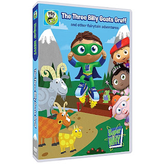 Super Why: The Three Billy Goats Gruff and other fairytale adventures DVD