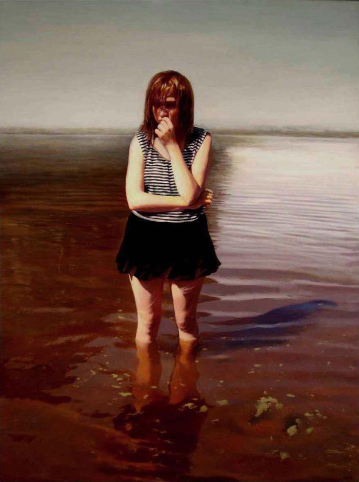 Фото реалистичные картины. Karin Broos