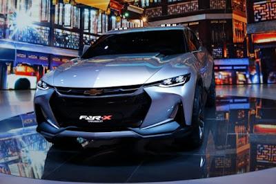 Chevrolet FNR-X Concept: Conception, Revue, Hybride